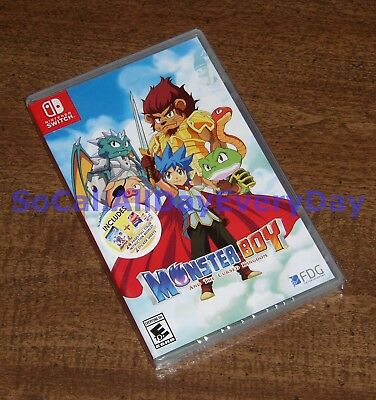 Monster Boy and the Cursed Kingdom Launch Edition (Nintendo Switch) BRAND NEW!!!
