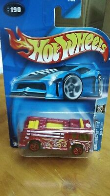 Hot Wheels Work Crewsers Fire-Eater #190!  2003!