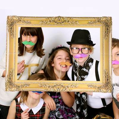 Vintage Wedding Birthday Party Large Photo Selfie Frame Photo Booth
