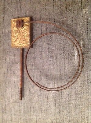 """Clock Chime Gong 7X6""""  Antique Mantle Clock Spare Part"""