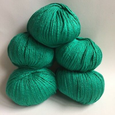 Debbie Bliss ( Pure Bliss)  Sita - 5 x 50g - Mulberry Silk & Cotton - Emerald