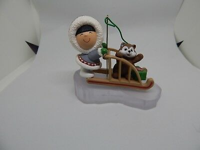 Hallmark 1989 Frosty Friends #10 Keepsake Ornament Handcrafted - Chip