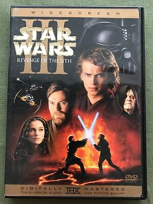 Star Wars Episode III: Revenge of the Sith DVD, 2005, 2-Disc Set THX Complete