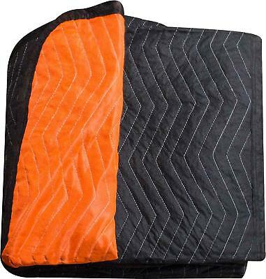 "Burly moving blanket from Forearm Forklift-1 moving blanket ""Blaze"" orange/black"