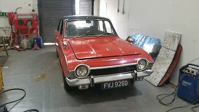 1966 Ford Corsair V4 Deluxe 2lt - rare car, not many left!