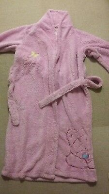 Girls Tatty Teddy Dressing Gown M&S Age 9-10