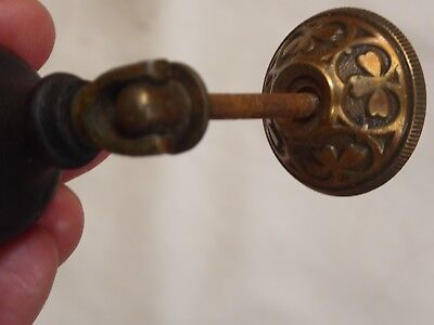 Set of Two Antique Victorian Teardrop Pulls