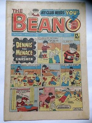 DC Thompson THE BEANO Comic. Issue 2182. May 12th 1984. **Free UK Postage**
