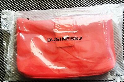 Air France International Business Class Amenity Kit Red Sealed BRAND NEW.