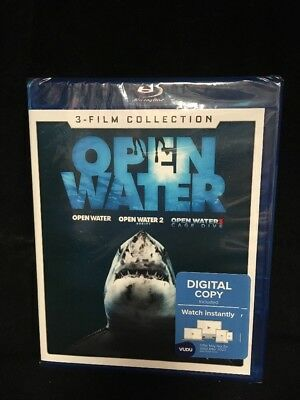 Open Water 3 Film Collection (Blu-ray, 2018) Brand New