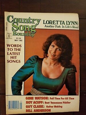 Country Song Round Up Magazine Loretta Lynn May 1982