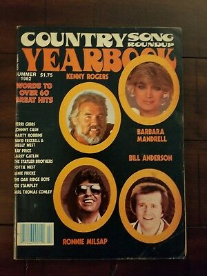 Country Song Round Up Magazine Yearbook Summer 1982