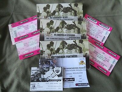 Mixed bag of  Newcastle Vipers Ice Hockey Tickets