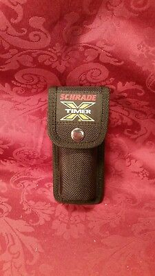 """NOS! SCHRADE USA X-TIMER 5"""" NYLON SHEATH FIT LARGER 5"""" KNIVES and XT7B KNIFE"""