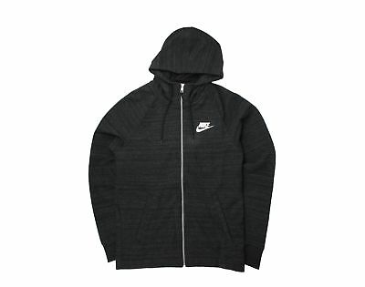 Nike Mens AV15 Full Zip Knit Hoodie Olive Canvas//White AQ8391-395 Size 2X-Large