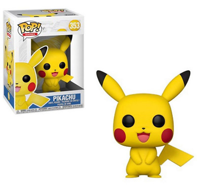 Funko Pop Games Pokemon Pikachu #353  Vinyl Figure with Box Toy Gift