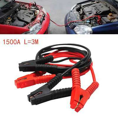 3M Heavy Duty Power Booster Cable Emergency Car Battery Jumper D8K1Q