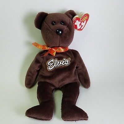 8792ea98a76 TY Beanie Baby - COCO PRESLEY the Bear (Brown Version - Walgreen s Excl) w
