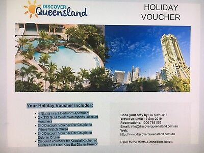6 Night Mantra Crown Towers Coast Holiday Voucher - 2 Bedroom