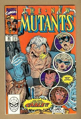 The New Mutants #87 - 1st Appearance of Cable- 6.5 Fine+