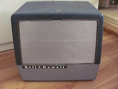 Bell & Howell Filmosound 16mm 385 Extension Speaker 16 ohm, 15 Watt Working