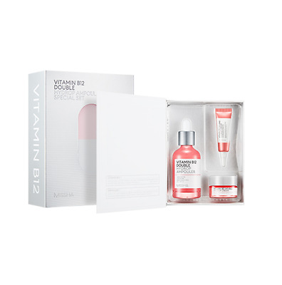 [MISSHA] Vitamin B12 Double Hydrop Ampouler Special Set - 1pack (3items)