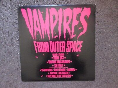 "V/a ""vampires From Outer Space Vol.1"" 1979 Nm/ex New Wave Comp.(Prod.kim Fowley)"