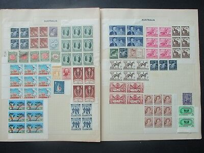 ESTATE: Australian Collection on Pages  - Must Have!! Great Value (P29)