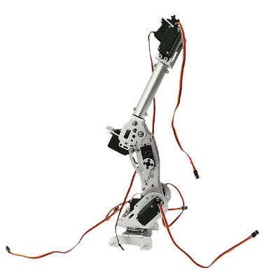 S7 7DOF Mechanical Robot Arm Clamp Claw Manipulator Kit for Arduino Robotic