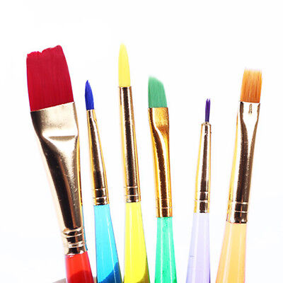 Cool Artist Paint Brushes Set Kit Watercolour Acrylic Oil Painting Paints Craft