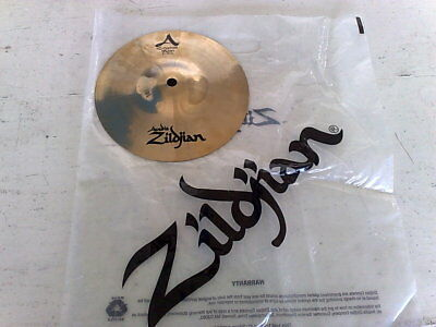 "Crash Splash Zildjian Avedis Custom Brillante Da 8""/20Cm Usato 1 Volta - Nuovo"