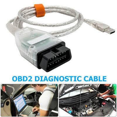 inpa ediabas k+can d-can usb interface OBD2 EOBD diagnostic cable for bmw New