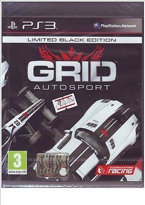 PS3 GRID Autosport Limited black edition - Nuovo !!!!