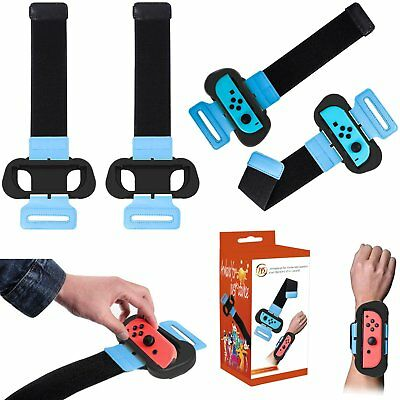 2 in 1 Wrist Strap Dancing Arm Wristband for NS Switch Joy-Con Just Dance 2019