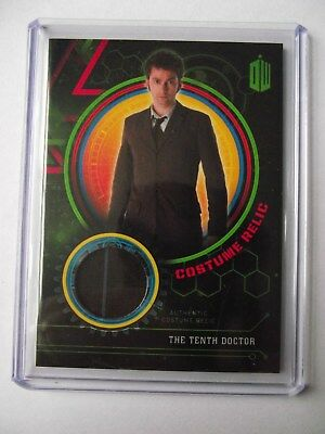 2016 Topps Doctor Who Extraterrestrial Encounters The 10th Doctor 029/199 Relic