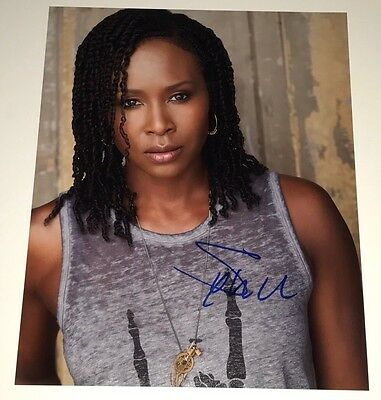 Entertainment Memorabilia Television Sydelle Noel Signed Autograph Glow Cherry Bang 8x10 Photo With Coa Pj