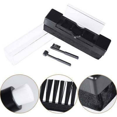 Vinyl Record Cleaning Brush Set Stylus Velvet Anti-static Cleaner Kit Set 2 in1