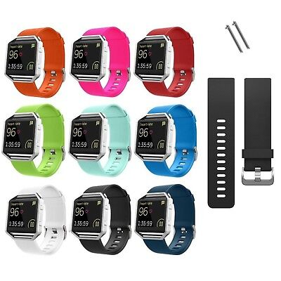 For Fitbit Blaze Tracker Replacement Silicone Bracelet Wrist Band New Arrival