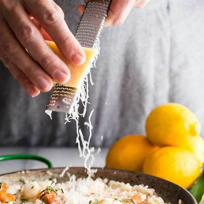 Cheese Ginger Chocolate Food Stainless Steel Hand Grater Zester Citrus Lemon
