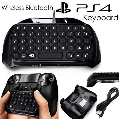 Bluetooth Wireless PS4 Keyboard Chatpad Controller GamePad For Playstation 4 SY