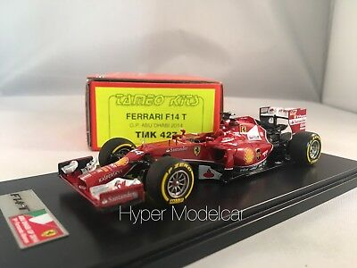 Tameo Kit 1/43 F1 Ferrari F14 T #14 Gp Abu Dhabi 2014 F. Alonso 9th Art.TMK427