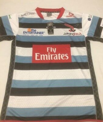 Joining Jack 2015/16 Dubai 7's Rugby Shirt by XBlades Adult Size Small BNWT