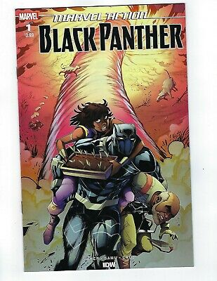 Marvel Action Black Panther # 1 Cover A NM Pre Sale Ships Mar 13th