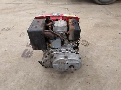 Robin diesel engine DY23D with noram reduction gearbox excellent working order
