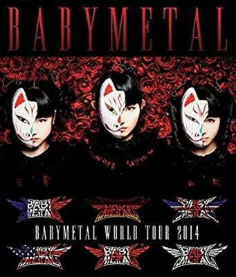 New BABYMETAL CD&DVD Many contents 1st Album LIMITED Press World Tour 2014 F/S
