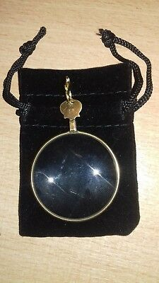 Vintage Antique Powerful Magnifying Lens Quizzing Glass Lorgnette Steampunk 14