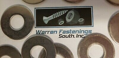 """1/2"""" Flat Washer 18-8 Stainless Steel"""