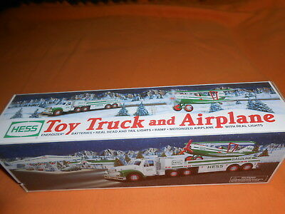 2002 Hess Toy Truck And Airplane - New In Box