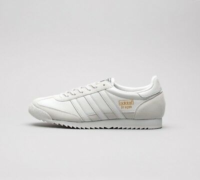 MENS ADIDAS DRAGON OG Trainers Grey OneGold (SF32) RRP £69.99
