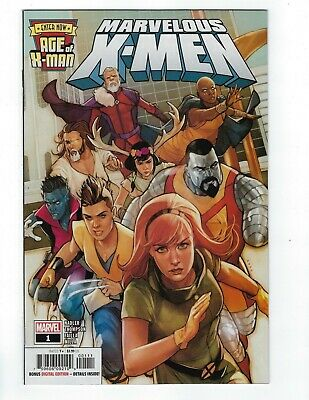 Age Of X-Man Marvelous X-Men # 1 of 5 Cover A NM Marvel Pre Sale Ships Feb 6th
